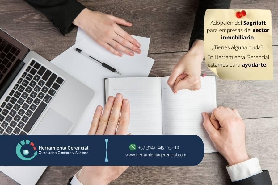 Adopción de Sagrilaft para Empresas del sector inmobiliario